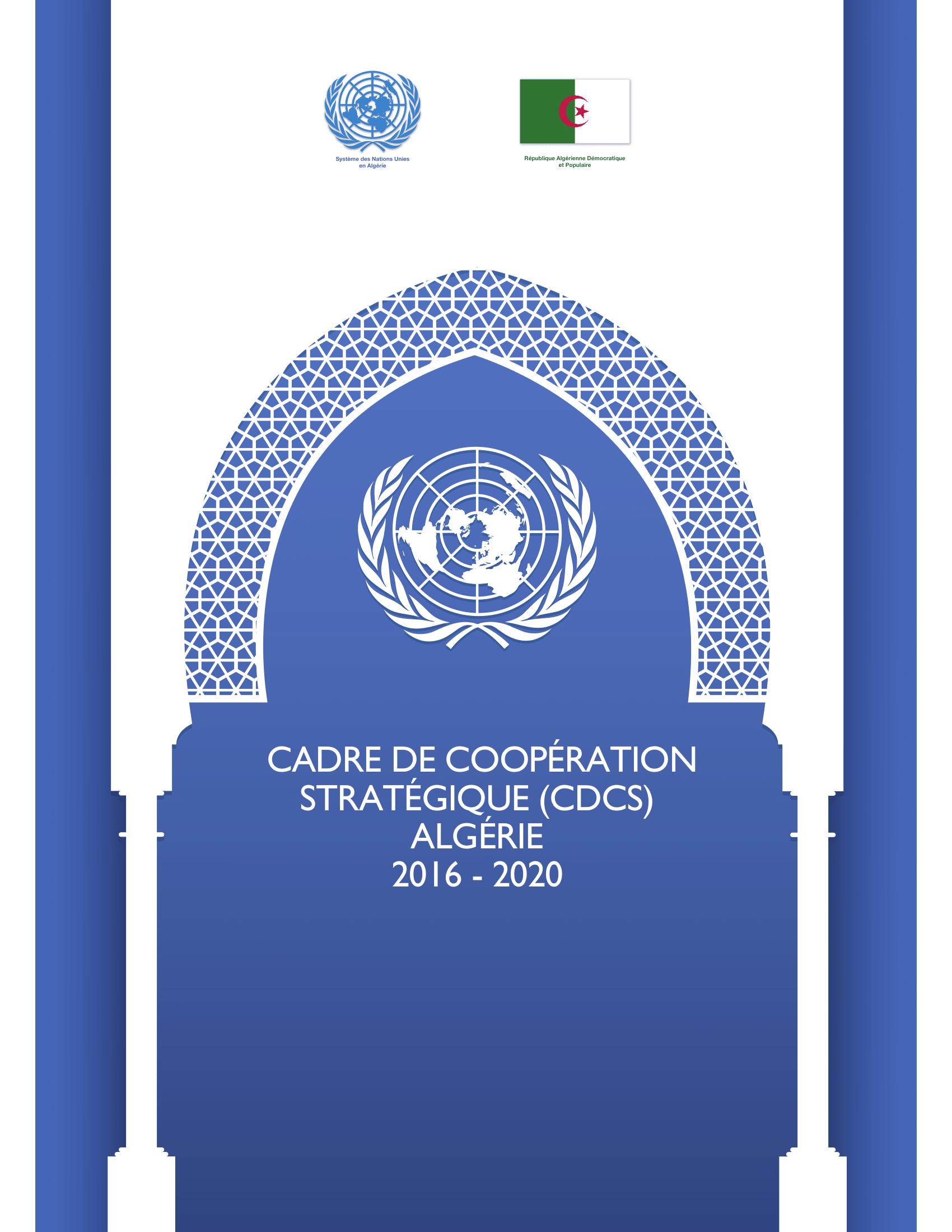 Cadre de coopération stratégique 2016-2020