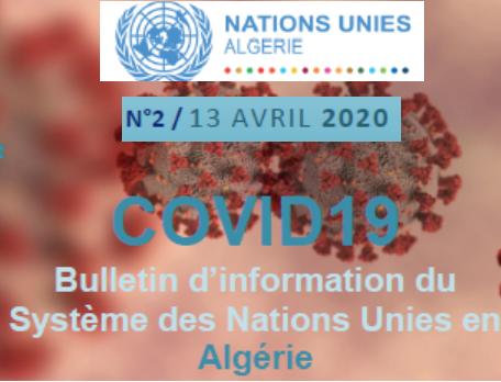 COVID-19-Bulletin d'information du SNU Algérie- n°2
