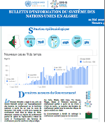 COVID-19-Bulletin d'information du SNU Algérie- n°4