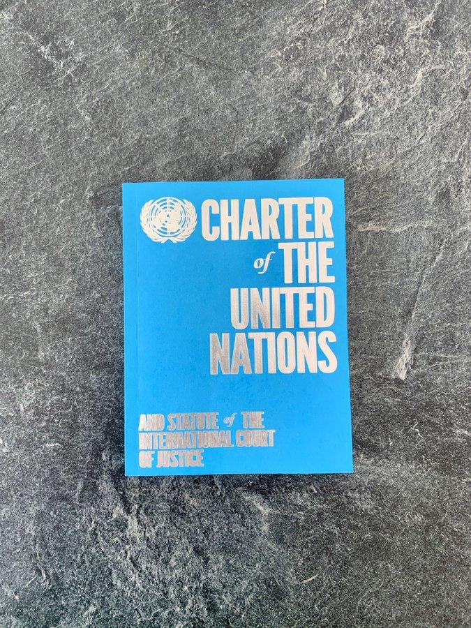 75ème anniversaire de la Charte des Nations Unies – message du Secrétaire général