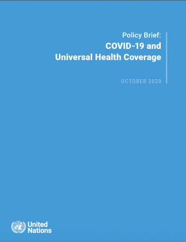 Note de synthèse sur la Covid19 et la couverture sanitaire universelle