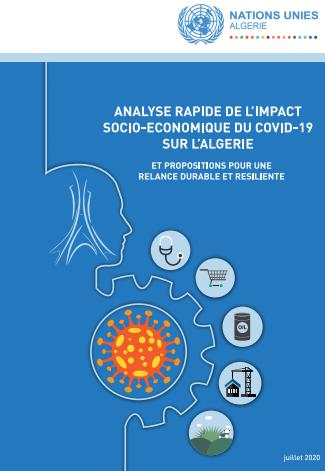 Analyse rapide de l'impact socio-économique du COVID19 sur l'Algérie -2019