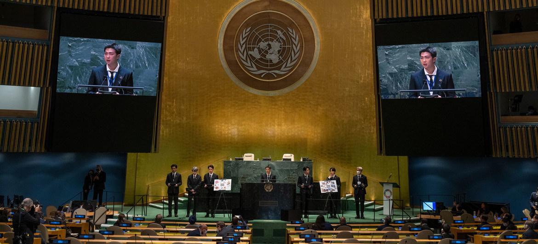 Développement durable : dirigeants mondiaux et le groupe BTS se joignent à Guterres pour appeler à revenir sur la bonne voie